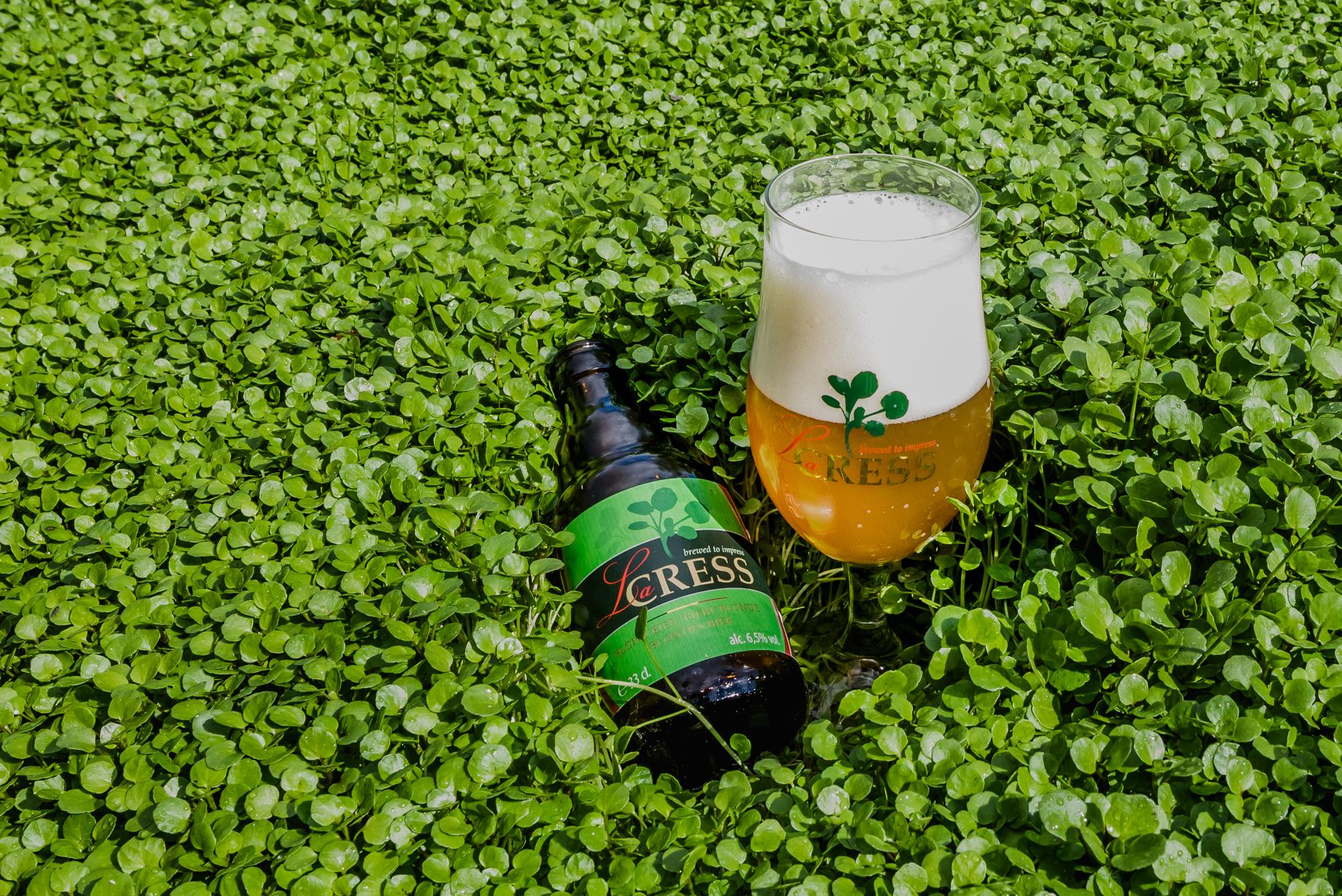 Het verhaal van waterkers- en bierproducent Sint-Lucie en La Cress